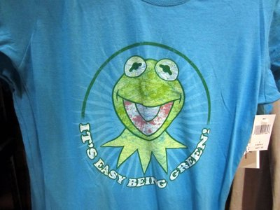 There are plenty of Muppet T-Shirts like this one with Kermit.
