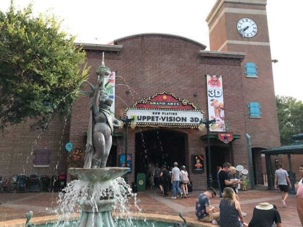 Muppet*Vision 3D on Grand Avenue is one of my <a href=