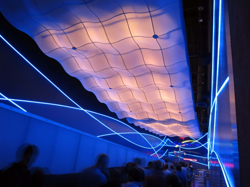 Soarin' is a favorite for many people, so the wait times can get very long.