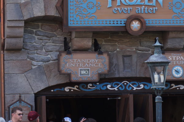 A wait this long isn't uncommon at Frozen Ever After!