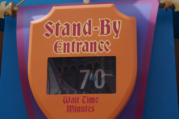 Peter Pan's Flight may not seem like it would have a long wait, but waits are frequently above an hour.