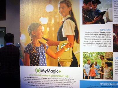 Odyssey had informational signs about MyMagic+, but no new information.