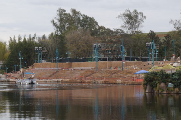 The Rivers of Light amphitheater at the edge of Discovery River will see a show update sometime this fall!