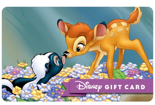 Bambi and Thumper. Photo credits (C) Disney Enterprises, Inc. All Rights Reserved
