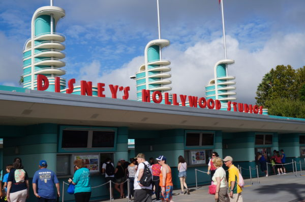 The Hollywood Studios entrance is open and ready for business!