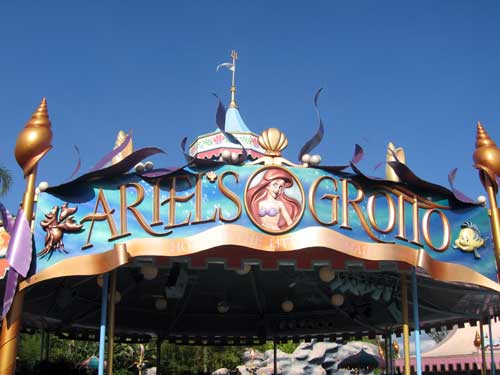 Do you remember the previous Ariel's Grotto?