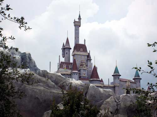 Fantasyland has a castle of its own: Beast's Castle.
