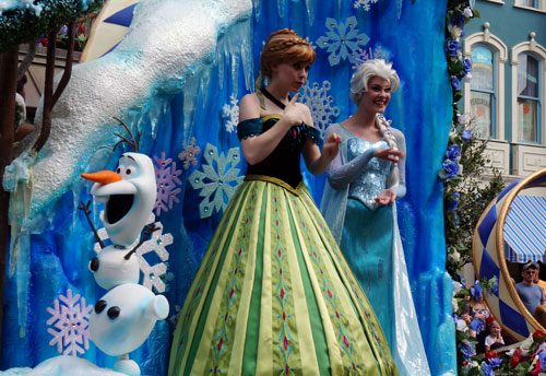 Anna and Elsa will soon have a new home.