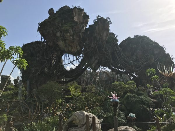 Pose with the landscape in Pandora, but beware that some of the plants are supposedly carnivorous!