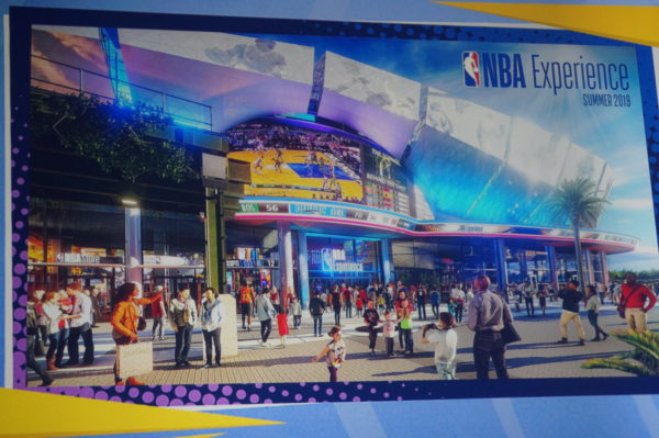There will be a sports bar inside the NBA Experience where you'll be able to get all of your favorite American foods plus see the biggest sporting events of the day!