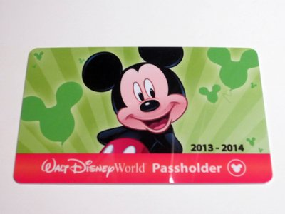 The front of the new, plastic annual pass with RFID features a colored bar which indicates if the owner gets free parking.