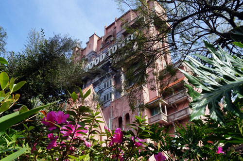 Welcome to the Hollywood Tower Hotel.