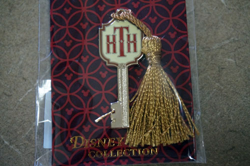 Hollywood Tower Hotel key pin.
