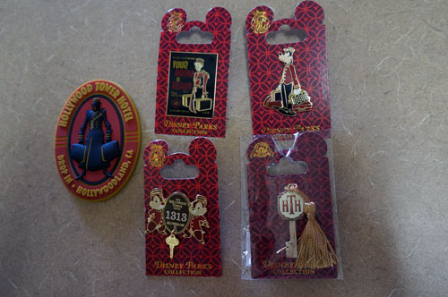 Win four Tower of Terror Pins and a Magnet.