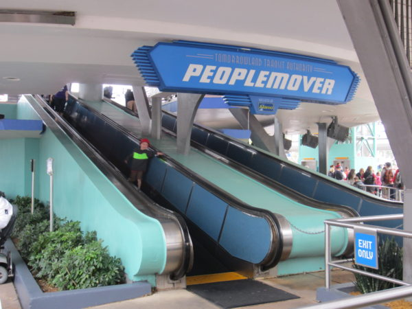 The PeopleMover is a classic Disney attraction that moves constantly, so just jump on when you're ready!