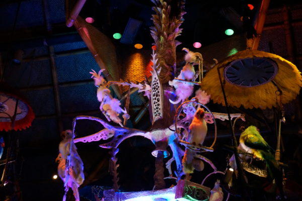 The Enchanted Tiki Room is full of audio-animatronic birds that will serenade you throughout the show!