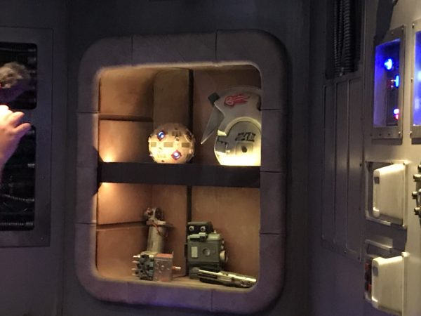 Each area is themed including this fun Star Wars display.