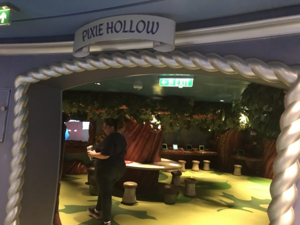 Pixie Hollow is one of the areas in the Oceaneer's Club.