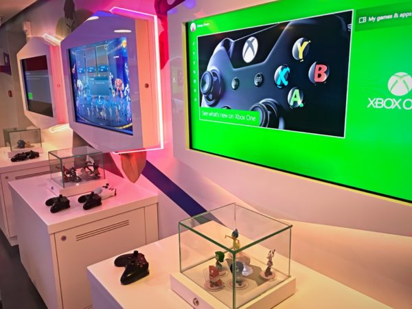 The Oceaneer's Club offers a variety of gaming consoles!