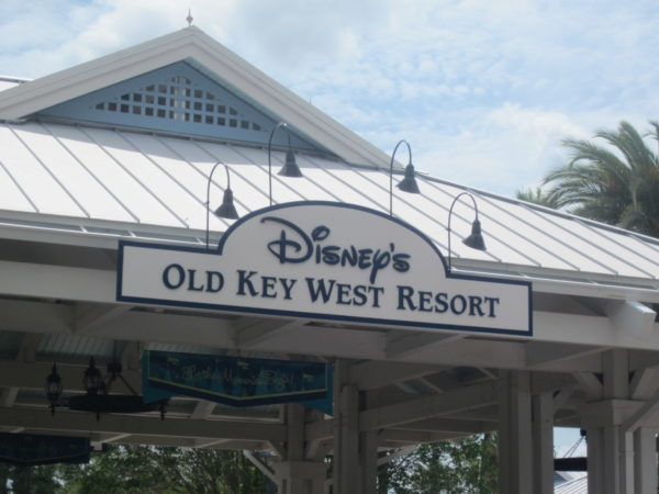 Disney's Old Key West Resort - welcome home!