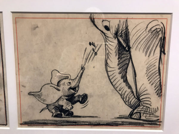 """Dumbo"" (1941). Storyboard Drawings for the film. Storyboard Drawings are used by filmmakers to pre-visualize a story from start to finish."