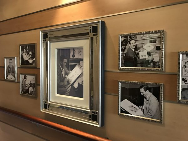 These photos show Walt working on his animations!