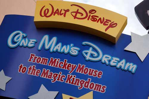 One Man's Dream traces Walt's life from his early days to his last project.