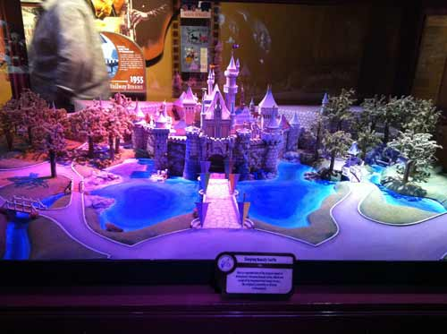 Check out this detailed model of Sleeping Beauty Castle!