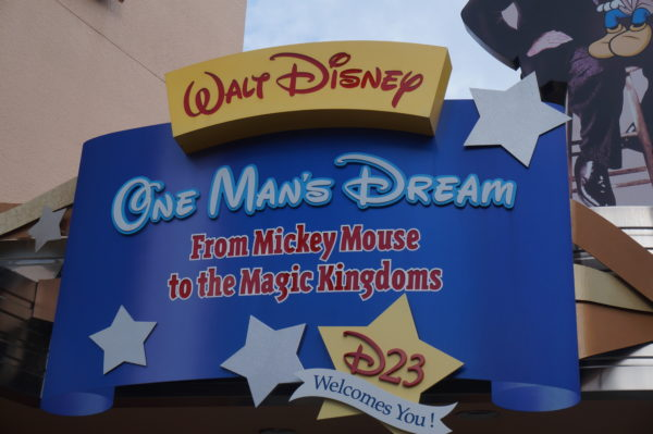 One Man's Dream is now closed and will reopen as a preview center called Walt Disney Presents.