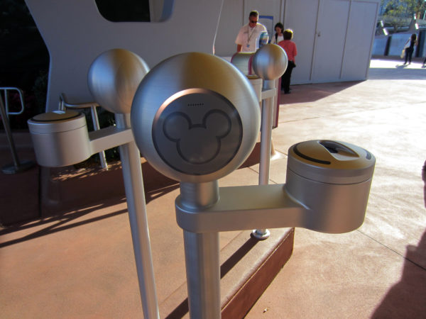Avoid germs by not touching things in Disney World including fingerprint scanners at park entrances.