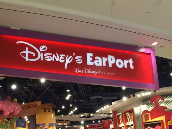 The current Orlando International Airport is so connected with Disney World that there are even stores where you can pick up a last minute souvenir before heading home!