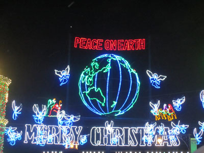 Peace on earth, and Merry Christmas!