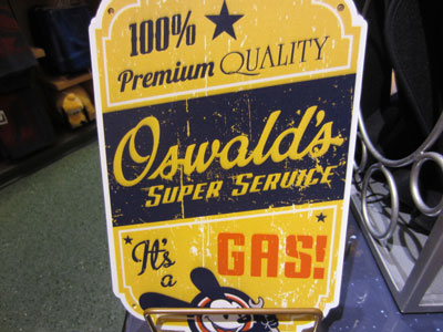 Oswald's Super Service - It's a gas!