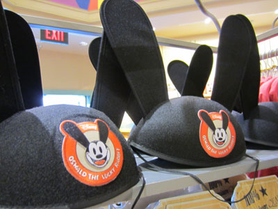The Oswald ear hats are lots of fun.