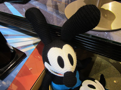 Old-fashioned Oswald plush.