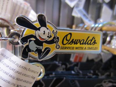 A nice Oswald key chain.