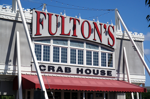 Fulton's Crab House will close briefly for some refurbishments.