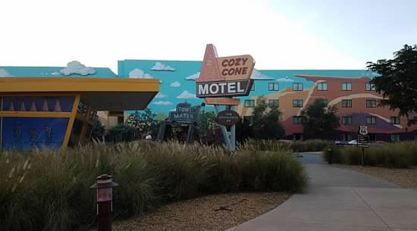 You're never too old to play cars! Visit Art of Animation Resort to see some amazing theming.