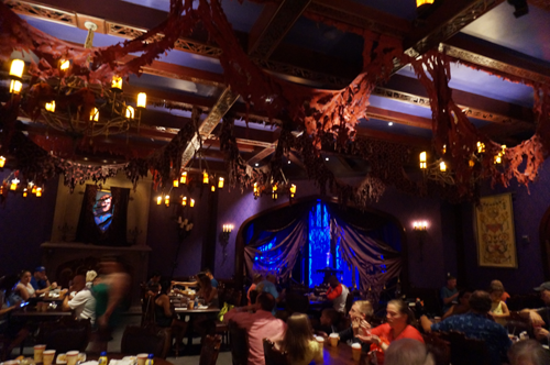 Many Disney dining options, like Be Our Guest, offer great food and truly unique atmosphere.