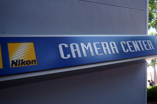 Photos are so important at Disney that Nikon has sponsored a Camera Center near the entrance of the parks.