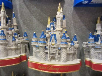 This Cinderella Castle magnet is pretty bulky.