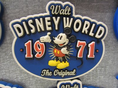 You can win this Mickey Mouse magnet - very classy!