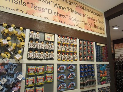 Mickey's Pantry offers a full wall of magnets.