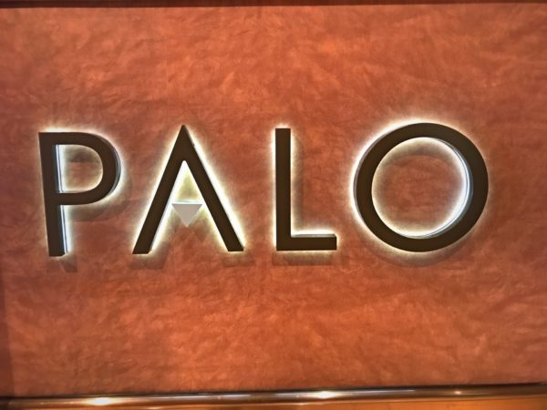 Palo is an adults-only dining experience aboard the Disney Dream.
