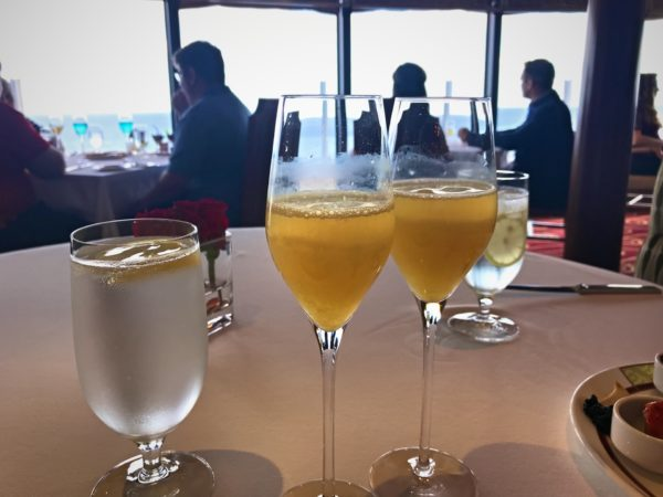 Mimosas are included with your meal!