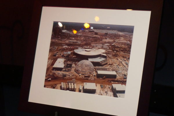 I don't think I have ever seen this Epcot construction photo.