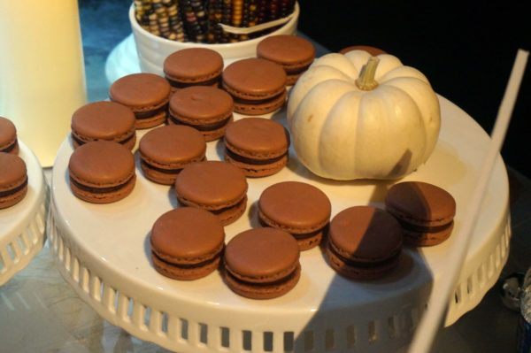 Chocolates and macarons.