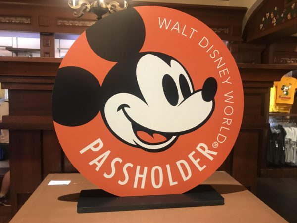 This Passholder Logo welcomes you throughout the store.