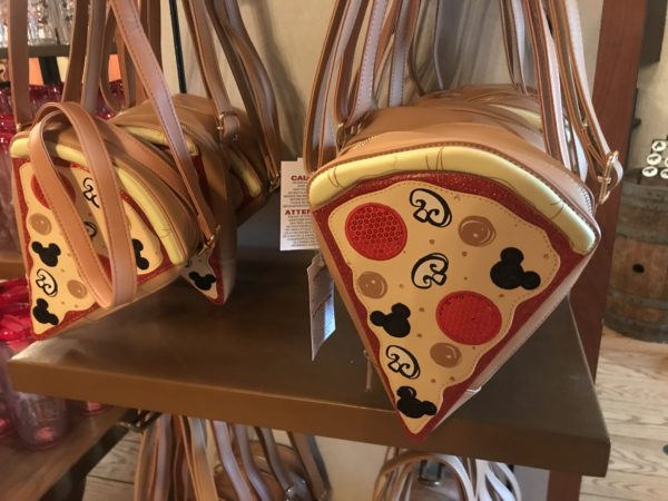 This pizza purse is new and costs $39.99.