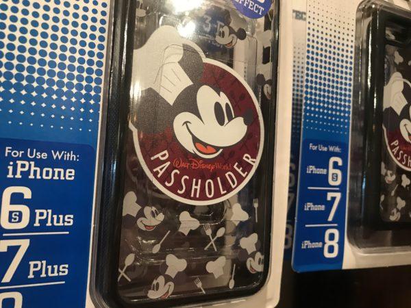 Chef Mickey Passholder logo phone case.